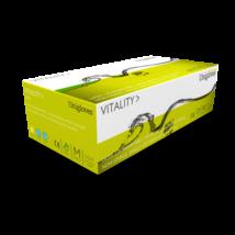 Zöld, latexes kesztyű, Vitality Latex (Mint) (100 db) (M)