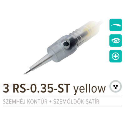 NPM 3 RS-0.35-ST Yellow
