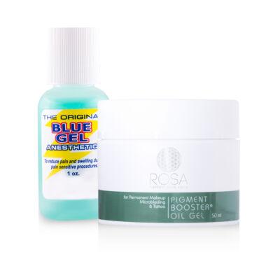 Blue Gel érzéstelenítő és Pigment Booster Oil Gel