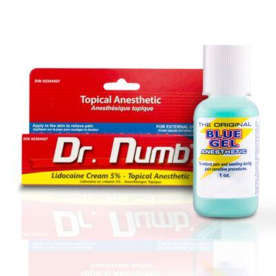 Érzéstelenítő csomag (1db Dr Numb és 1db Blue Gel)