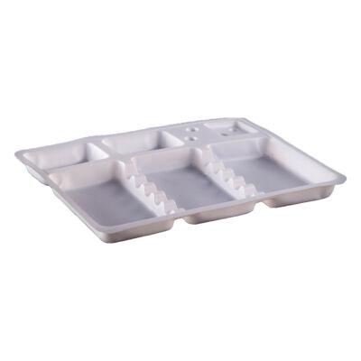 Egyszer használatos plasztik eszköztálca (10db)