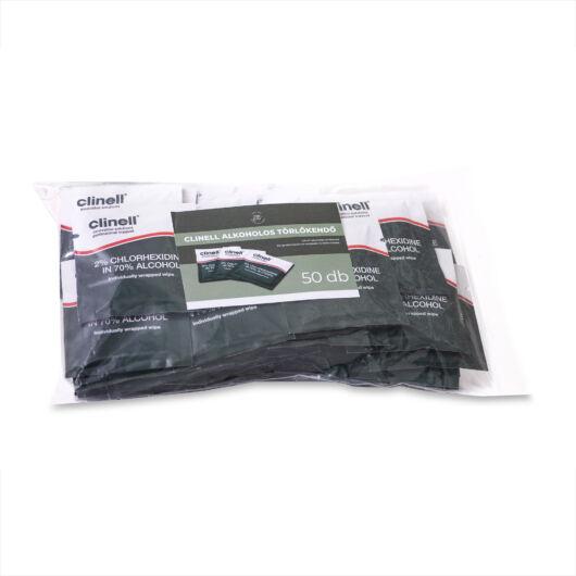 Clinell alkoholos fertőtlenítőkendő - 50 db