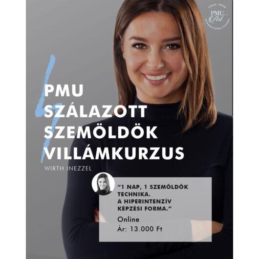 ONLINE SZÁLAZOTT SZEMÖLDÖK PMU VILLÁMKURZUS - Wirth Inezzel